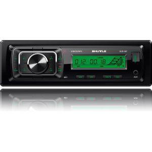 USB / SD ресивер, SHUTTLE SUD-387 Black/Green