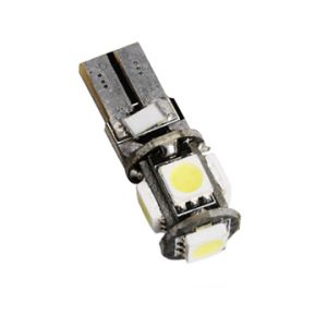 Світлодіодна лампа, без ТМ T10-5050-5SMD Canbus