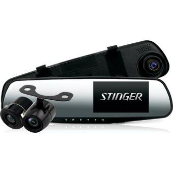 Дзеркало з відеореєстратором Stinger ST DVR-M489FHD 2 cam