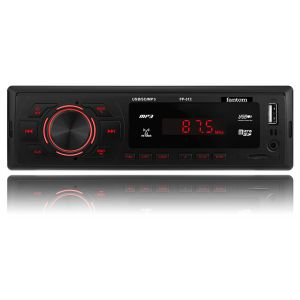 USB / SD ресивер, FANTOM FP-312 Black/Red