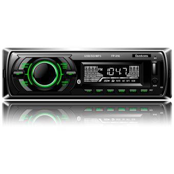 USB / SD ресивер, FANTOM FP-316 Black/Green