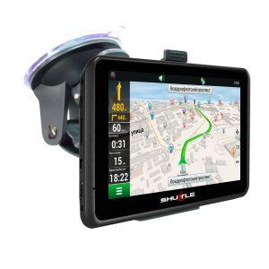 """GPS навігатор (4,3 """"+ FM), SHUTTLE PNA-4300"""