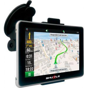 """GPS навігатор (5.0 """"+ FM + AV), SHUTTLE PNA-5019"""