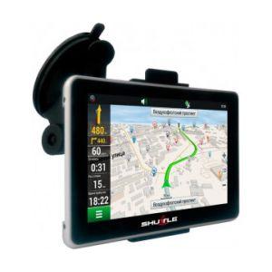 """GPS навігатор (5.0 """"+ FM + AV), SHUTTLE PNA-5028"""