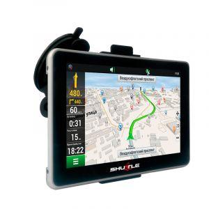 """GPS навігатор (7.0""""+FM), SHUTTLE PNA-7028"""