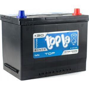 Акумулятор Topla 75Ah/12V Top/Energy Japan Euro 57529