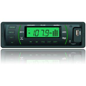 USB / SD ресивер, STARLITE STL-302 Black/Green